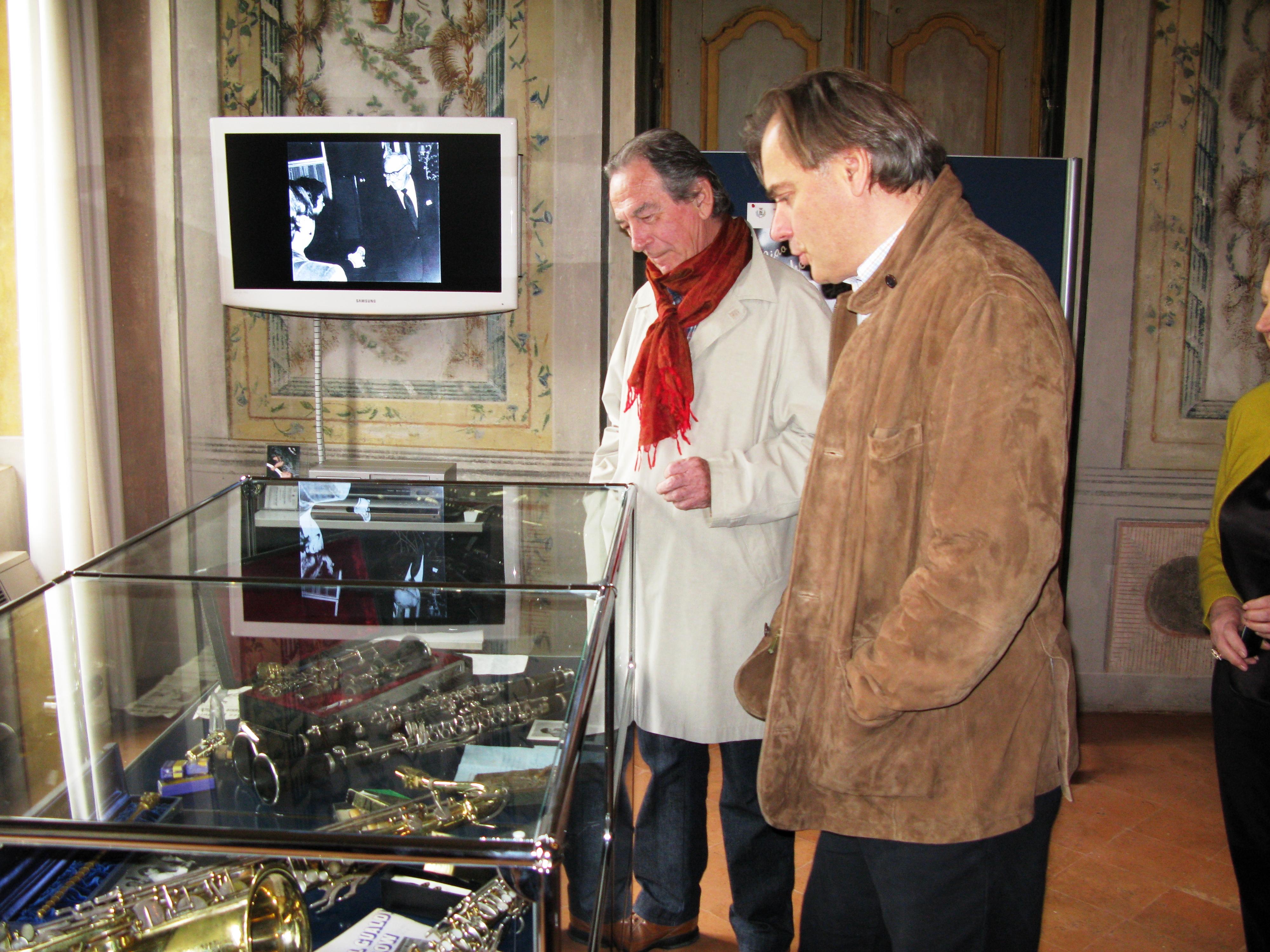 Giancarlo Gualdi e Andrea Griminelli