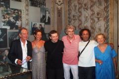 Giancarlo Gualdi, Rita Marcotulli, Javier Girotto, Maurizio Tirelli, Luciano Biondini, Ass. Giulia Luppi