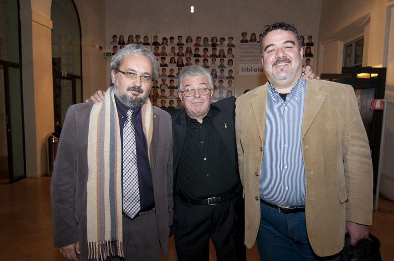 Giorgio Babbini, Danilo Righi, Piero Vincenti